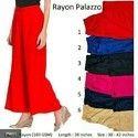 Ladies Rayon Plazzo
