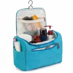 Portable Hanging Toiletry Bag for Women & Men Kit with Hanging Hook