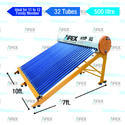 500 Litre Solar Water Heater