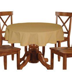 Lushomes 4 Seater LushomesPlain Sand Table Cloth  sc 1 st  IndiaMART & Lushomes 4 Seater LushomesPlain Sand Table Cloth Rs 470 /piece | ID ...