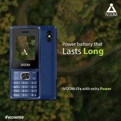ABS Blue Ivoomi i1s Keypad Phone
