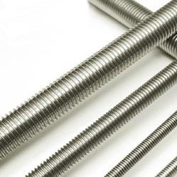 Stainless Steel Threaded Bar for Manufacturing, Thickness: 3-4 inch