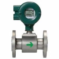 Digital Stainless Steel Yokogawa Magnetic Flow Meter, For Industry, Water