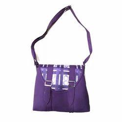 Black Jack Plain Designer Ladies Shoulder Bag, For Office, College