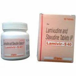 Lamivudine (150mg) Stavudine (40mg) Lamivir-S Tablets