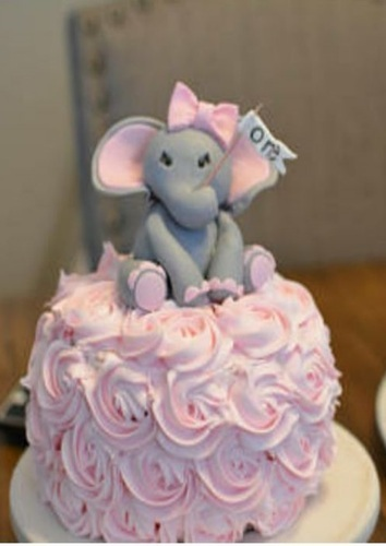 Wanors Round Mini Elephant Cake Weight 1kg Packaging