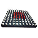 Kstar Square Acupressure Mat -with Magnetic Spring Points