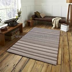 Rectangular Handwoven Textured Rug Online At Best Price