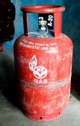 Commercial HP Gas Cylinder