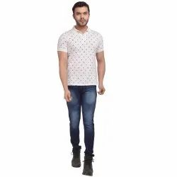 Skupar Casual Wear Slim Fit Men Denim Jeans