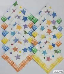 Womens cotton handkerchief( set of 12)