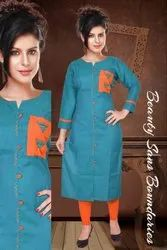 Flex Embroidered Kurti