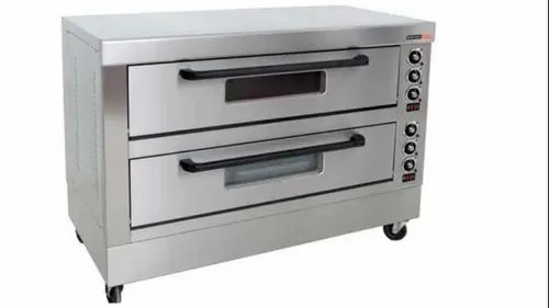 18x24 Inch Gas Operated Pizza Oven, Size: 36*25*15 Inches