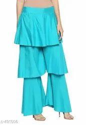 Ladies Rayon Skirts Palazzo