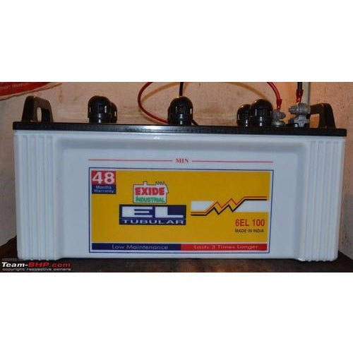 Exide 6EL100 Tubular Batteries