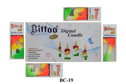 BC-19 Bittoo Gold Candle Birthday Candles