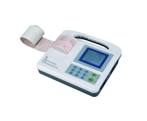 Contec Electrocardiogram, For Resting & Diagnostic, Number Of Channels: 3 Channels