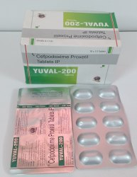 Cefpodoxime Proxetil 200 mg Tablet