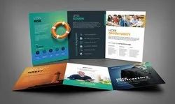 Paper Brochure Designing and Printing, in bhopal