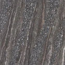 Brown Double Charge Charged Vitrified Galaxy Marble Tile for Flooring, Thickness: 6 To 8 mm