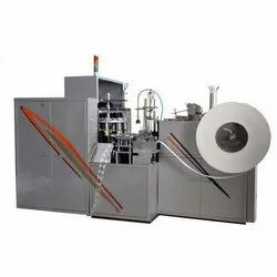 Semi Automatic Disposable Cup Making Machine