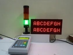 LCD Andon Display
