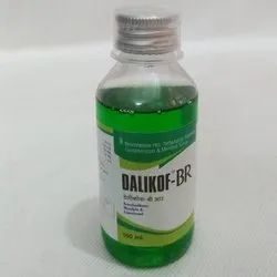 Bromhexine HCL,Terbutaline Sulphate, Guaiphenesin and Menthol Syrup