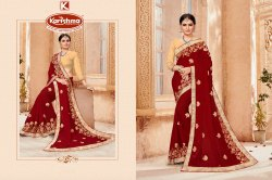 Embroidery Work Saree - Yashvi