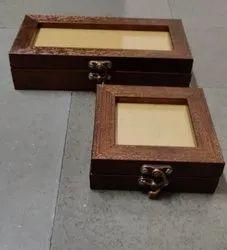 Copper/ Wengi Royal Jewellery Box