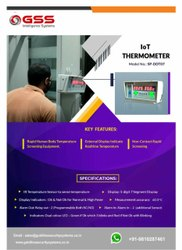 Temperature Check And Measurement Machine For High Body Temperature Scanning Iot Thermometer