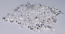 2.1mm 1ct DEF CVD HPHT Polished Lab Grown Diamonds