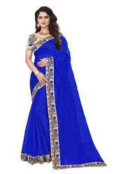 Ladies Wear Chanderi Cotton Saree