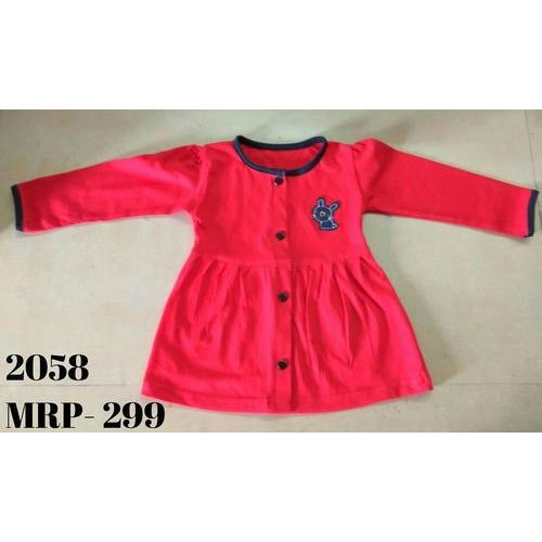 2f934d2d7480 Baby Love Pink Kids Girls Full Sleeve Frock