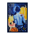 Yellow Canvas Dream Girl Painting