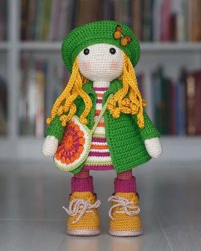 SALE 20% NEW PRICE Already made Ellie the doll Amigurumi | Etsy | 500x400