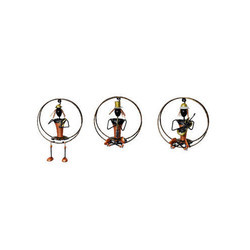 Hanging Musician Lady Set/3pc