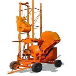 Four Channel Hydraulic Concrete Mixer