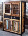 Vintage Reclaim Wood Furniture - Vintage Mirrored Furniture