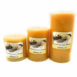 AuraDecor Vanilla Fragrance Candle