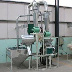 Semi Automatic Flour Mill Machine