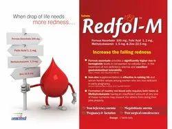 Ferrous Ascorbate 100 mg,Folic Acid 1.1 mg,Zinc 2.5 mg & Methylcobalamin 1500 mcg