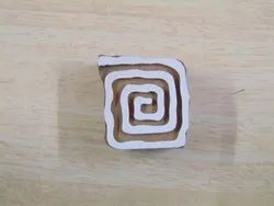 Square Candy Shaped Wooden Printing Blocks
