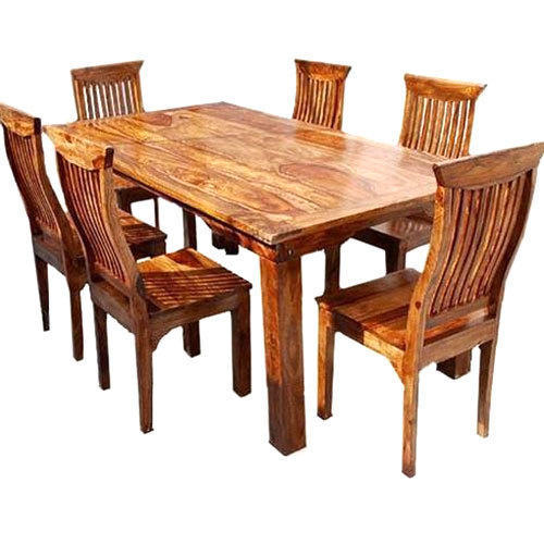 strong dining room chairs | Wooden Dining Table, Rs 35000 /set, Mrudula Furniture ...