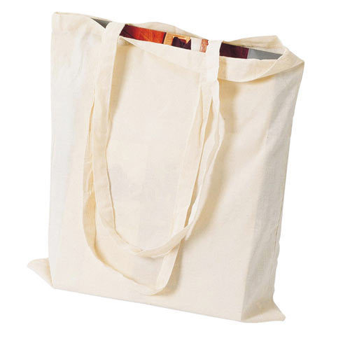 Natural Plain Eco Friendly Carry Bag
