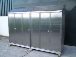 Stainless Steel Garment Storage Cabinet