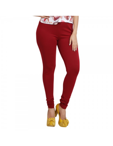 4cb9a39882902e Women Clothing - Lequeens Forest Green Color Jegging 136-JFGRE Wholesaler  from Coimbatore