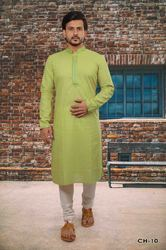 Embroidered Mens Kurta Pyjama
