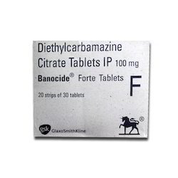 Diethylcarbamazine Citrate, 10