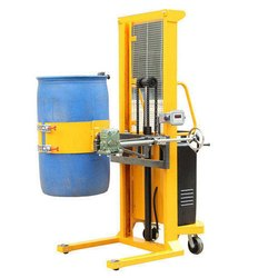 Semi Battery Operated Drum Lifter Cum Tilter