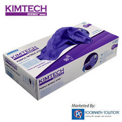 Purple Nitrile Examination Glove